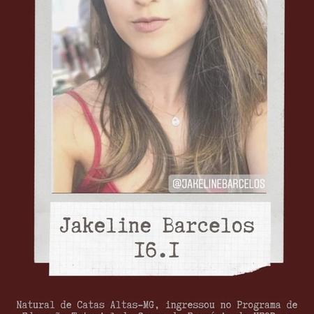 Jakeline Aparecida Barcelos (2016.1)