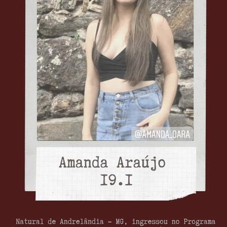 Amanda de Oliveira Araújo (2019.1)